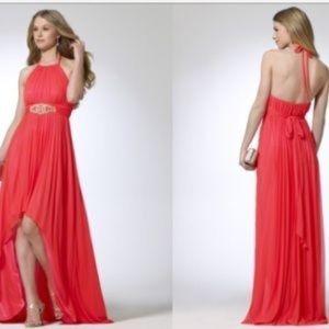 Cache high low dress
